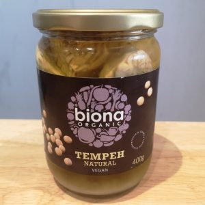 jar of Biona organic vegan tempeh