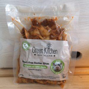 Meat free vegan rasher bites by Green Kitchen
