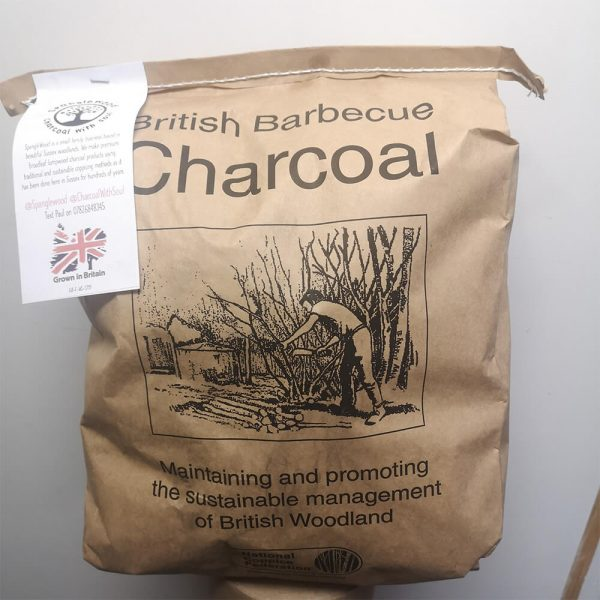 BBQ Charcoal from Spanglewood