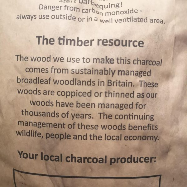 bbq charcoal suppliers notes
