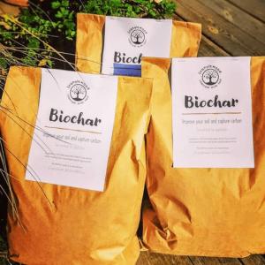 biochar from spanglewood