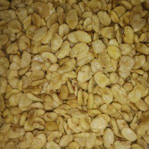 roasted fava beans with sea salt