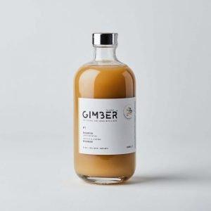 bottle of GIMBER ginger drink