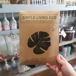 Eco friendly laundry sheets by Simple Living